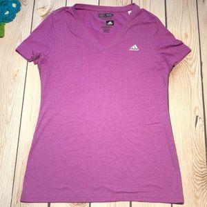 Adidas women's climacool aeroknit tee shirt
